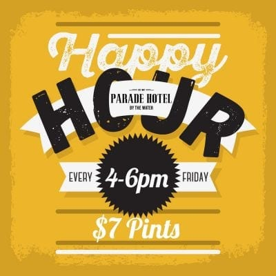 Enjoy $7 Pints from 4 - 6pm every Friday.