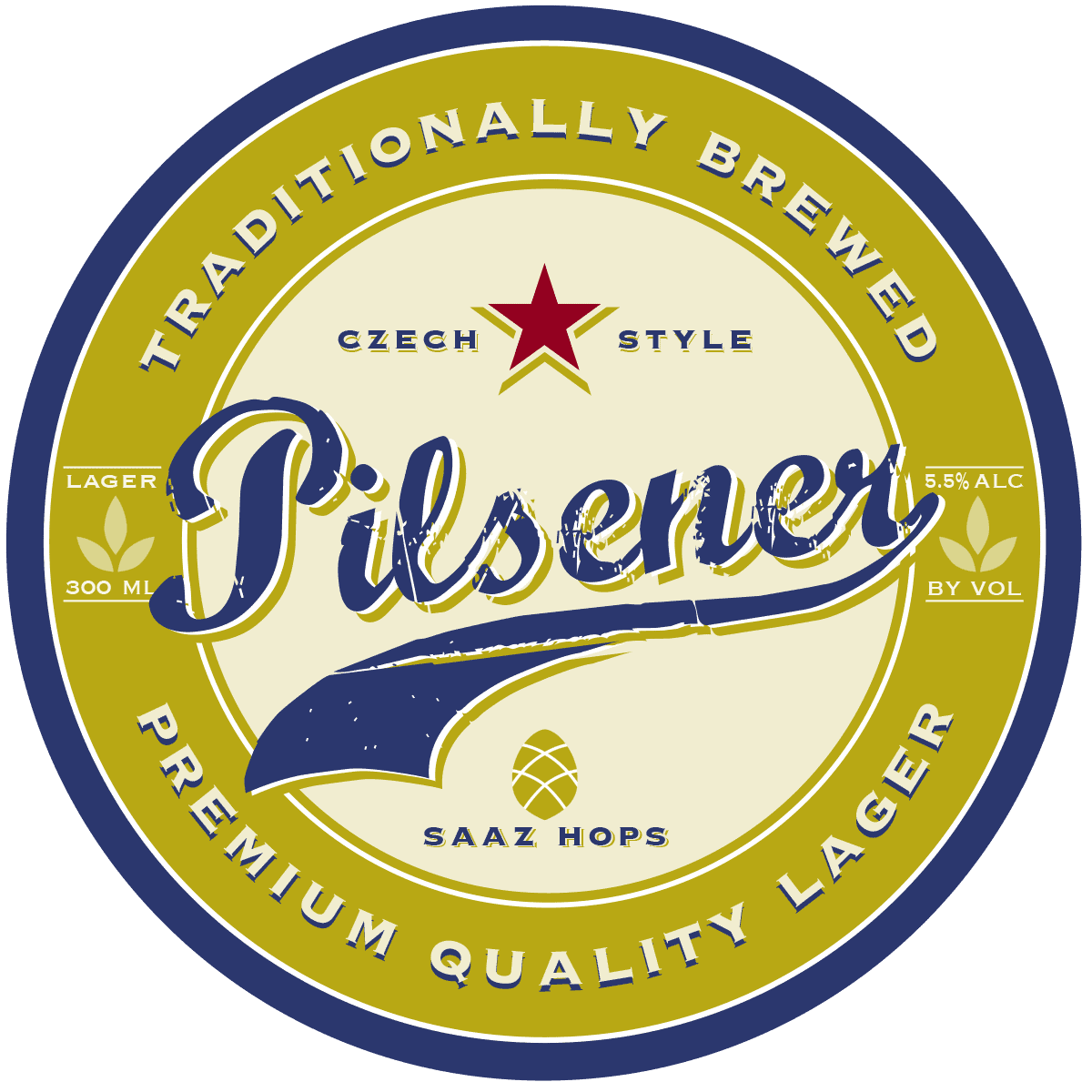 We're using Australian malt and hops in this beer now so it's more a lager than a European Pilsener. Dry and crisp like most commercial Aussie lagers but fuller and more flavour. Nice crisp and bitter finish.