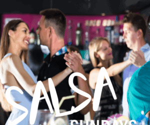 Get your dancing shoes on for a Sunday Night Salsa Class.