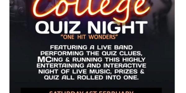 Rock College Quiz. One Hit Wonders